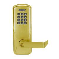 CO100-MS-70-KP-RHO-PD-606 Schlage Standalone Mortise Electronic Keypad locks in Satin Brass