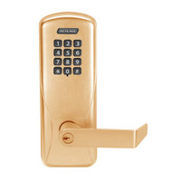 CO100-MS-70-KP-RHO-PD-612 Schlage Standalone Mortise Electronic Keypad locks in Satin Bronze