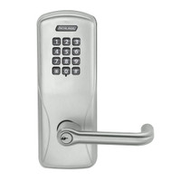 CO100-MS-50-KP-TLR-PD-619 Schlage Standalone Mortise Electronic Keypad locks in Satin Nickel