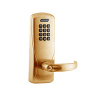 CO100-MS-70-KP-SPA-PD-612 Schlage Standalone Mortise Electronic Keypad locks in Satin Bronze