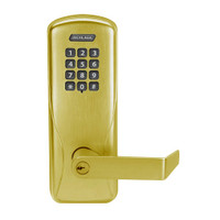 CO200-MS-50-KP-RHO-PD-606 Mortise Electronic Keypad Locks in Satin Brass