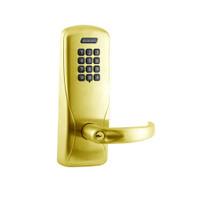 CO200-MS-50-KP-SPA-PD-606 Mortise Electronic Keypad Locks in Satin Brass