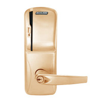CO200-MS-50-MS-ATH-PD-612 Mortise Electronic Swipe Locks in Satin Bronze