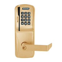 CO200-MS-40-MSK-RHO-PD-612 Mortise Electronic Swipe with Keypad Locks in Satin Bronze