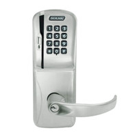 CO200-MS-40-MSK-SPA-PD-619 Mortise Electronic Swipe with Keypad Locks in Satin Nickel