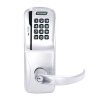 CO200-MD-40-MSK-SPA-PD-625 Mortise Deadbolt Standalone Electronic Magnetic Stripe with Keypad Locks in Bright Chrome