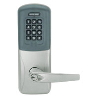 CO200-CY-40-PRK-ATH-PD-619 Schlage Standalone Cylindrical Electronic Proximity with Keypad Locks in Satin Nickel