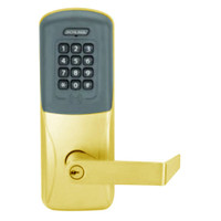 CO200-MD-40-PRK-RHO-PD-605 Mortise Deadbolt Standalone Electronic Proximity with Keypad Locks in Bright Brass