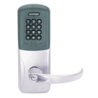 CO200-CY-70-PRK-SPA-PD-626 Schlage Standalone Cylindrical Electronic Proximity with Keypad Locks in Satin Chrome