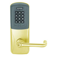 CO200-MD-40-PRK-TLR-PD-605 Mortise Deadbolt Standalone Electronic Proximity with Keypad Locks in Bright Brass
