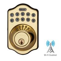 LS-DB5i-PB-A Lockstate Remote Lock Wi-Fi Keypad Deadbolt in Polished Brass