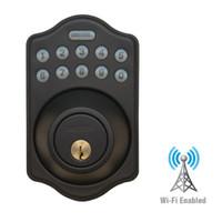 LS-DB5i-RB-A Lockstate Remote Lock Wi-Fi Keypad Deadbolt in Oil Rubbed Bronze