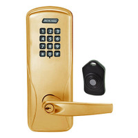 CO220-CY-75-KP-ATH-PD-612 Schlage Standalone Classroom Lockdown Solution Cylindrical Keypad locks in Satin Bronze