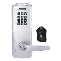 CO220-CY-75-KP-ATH-PD-626 Schlage Standalone Classroom Lockdown Solution Cylindrical Keypad locks in Satin Chrome