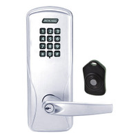CO220-MS-75-KP-ATH-PD-625 Schlage Standalone Classroom Lockdown Solution Mortise Keypad locks in Bright Chrome