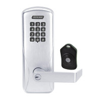 CO220-CY-75-KP-RHO-PD-625 Schlage Standalone Classroom Lockdown Solution Cylindrical Keypad locks in Bright Chrome