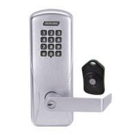 CO220-CY-75-KP-RHO-PD-626 Schlage Standalone Classroom Lockdown Solution Cylindrical Keypad locks in Satin Chrome