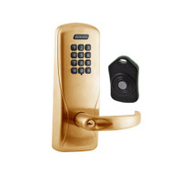 CO220-CY-75-KP-SPA-PD-612 Schlage Standalone Classroom Lockdown Solution Cylindrical Keypad locks in Satin Bronze