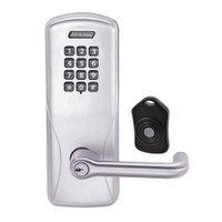 CO220-CY-75-KP-TLR-PD-626 Schlage Standalone Classroom Lockdown Solution Cylindrical Keypad locks in Satin Chrome