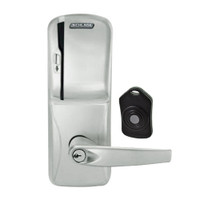 CO220-CY-75-MS-ATH-PD-619 Schlage Standalone Classroom Lockdown Solution Cylindrical Swipe locks in Satin Nickel