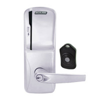 CO220-MS-75-MS-ATH-PD-626 Schlage Standalone Classroom Lockdown Solution Mortise Swipe locks in Satin Chrome