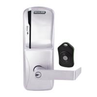 CO220-MS-75-MS-RHO-PD-626 Schlage Standalone Classroom Lockdown Solution Mortise Swipe locks in Satin Chrome