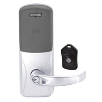 CO220-CY-75-PR-SPA-PD-625 Schlage Standalone Classroom Lockdown Solution Cylindrical Proximity locks in Bright Chrome