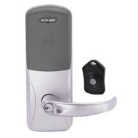 CO220-CY-75-PR-SPA-PD-626 Schlage Standalone Classroom Lockdown Solution Cylindrical Proximity locks in Satin Chrome