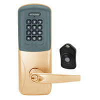 CO220-CY-75-PRK-ATH-PD-612 Schlage Standalone Classroom Lockdown Solution Cylindrical Proximity Keypad with in Satin Bronze