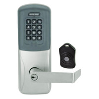 CO220-CY-75-PRK-RHO-PD-619 Schlage Standalone Classroom Lockdown Solution Cylindrical Proximity Keypad with in Satin Nickel