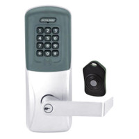 CO220-CY-75-PRK-RHO-PD-625 Schlage Standalone Classroom Lockdown Solution Cylindrical Proximity Keypad with in Bright Chrome