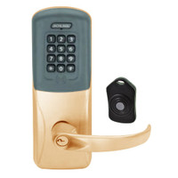 CO220-CY-75-PRK-SPA-PD-612 Schlage Standalone Classroom Lockdown Solution Cylindrical Proximity Keypad with in Satin Bronze