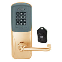 CO220-CY-75-PRK-TLR-PD-612 Schlage Standalone Classroom Lockdown Solution Cylindrical Proximity Keypad with in Satin Bronze