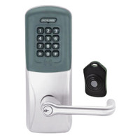 CO220-CY-75-PRK-TLR-PD-626 Schlage Standalone Classroom Lockdown Solution Cylindrical Proximity Keypad with in Satin Chrome