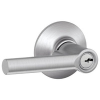 F80-BRW-RH-626 Schlage F Series - Broadway Lever style with Storeroom Lock Function in Satin Chrome