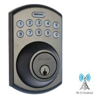 LS-DB5i-RB-B Lockstate Remote Lock Wi-Fi Keypad Deadbolt in Oil Rubbed Bronze