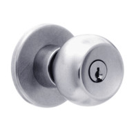 X511PD-TG-626 Falcon X Series Cylindrical Entry/Office Lock with Troy-Gala Knob Style in Satin Chrome Finish