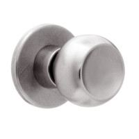 X12-TG-630 Falcon X Series Cylindrical Single Dummy Trim with Troy-Gala Knob Style in Satin Stainless Finish