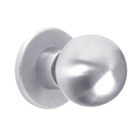 X301S-HG-625 Falcon X Series Cylindrical Privacy Lock with Hana-Gala Knob Style in Bright Chrome Finish