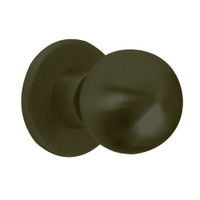 X12-HG-613 Falcon X Series Cylindrical Single Dummy Trim with Hana-Gala Knob Style in Oil Rubbed Bronze Finish