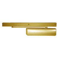2800ST-696 Norton 2800ST Series Pull Side Non-Hold Open Cam Action Door Closer in Satin Brass Painted Finish