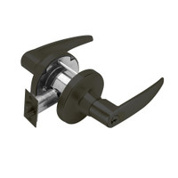 T381GD-A-613 Falcon T Series Cylindrical Exit Security Lock with Avalon Lever Style Prepped for SFIC in Oil Rubbed Bronze Finish
