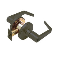 T571GD-D-613 Falcon T Series Cylindrical Dormitory/Corridor Lock with Dane Lever Style Prepped for SFIC in Oil Rubbed Bronze Finish