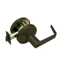 B341PD-D-613 Falcon B Series Single Cylinder Connecting/Exit Lock with Dane Lever Style in Oil Rubbed Bronze Finish