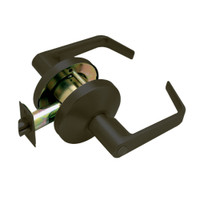 B301S-D-613 Falcon B Series Non-Keyed Cylinder Privacy Lock with Dane Lever Style in Oil Rubbed Bronze Finish