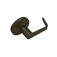 B12-D-613 Falcon B Series Non-Keyed Half Dummy Cylinder with Dane Lever Style in Oil Rubbed Bronze Finish