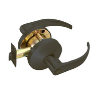 B301S-Q-613 Falcon B Series Non-Keyed Cylinder Privacy Lock with Quantum Lever Style in Oil Rubbed Bronze Finish
