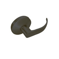 B12-Q-613 Falcon B Series Non-Keyed Half Dummy Cylinder with Quantum Lever Style in Oil Rubbed Bronze Finish