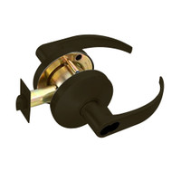 B611BD-Q-613 Falcon B Series Single Cylinder Dormitory/Corridor Lock with Quantum Lever Style in Oil Rubbed Bronze Finish