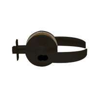 K581BD-Q-613 Falcon K Series Single Cylinder Storeroom Lock with Quantum Lever Style in Oil Rubbed Bronze Finish